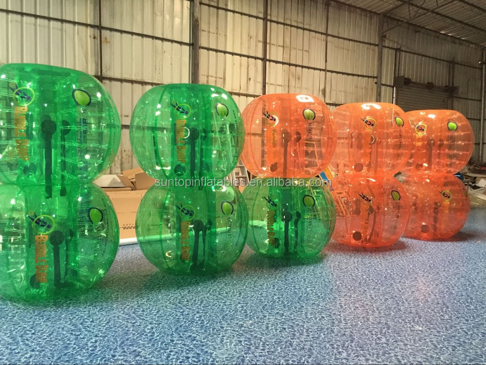 good sales inflatable human body zorb ball, bumper ball, bubble ball with PVC/TPU best quality