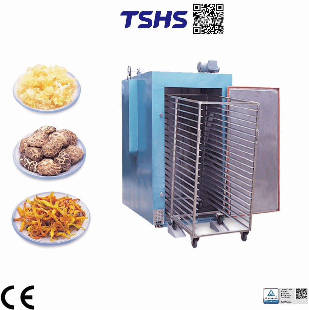 High quantity continuous dryer in sweet potato slices