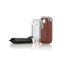 Promotional Products Latest Models Pen Drives USB Flash Drive with Leather Pocket