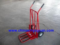 Foldable Pneumatic Tyre Hand Trolley/hand tools