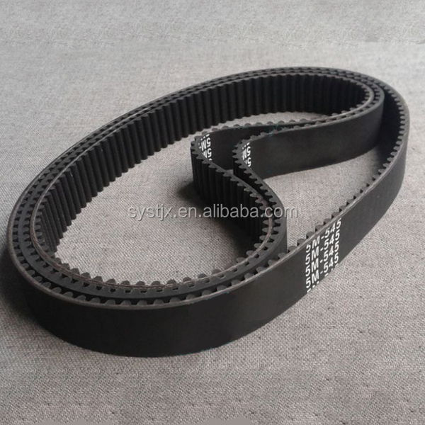 Chinese products XL teeth type rubber black timing belt