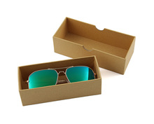 FP-CB001 Accessories custom logo cardboard case box paper sunglasses packaging