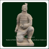 Life Size Stone Terracotta Warrior Replica Statue