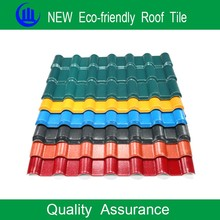 Building materials ASA plastic pvc roof tile/new technology construction material/synthetic resin roof