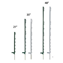 recycled electric plastic fence animal fencing posts