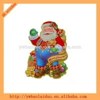 2014 hot sale 3d wall christmas card sticker