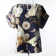 womens Fashion Women Sexy Short Sleeve Crop Tops Women Summer Loose Casual Chiffon