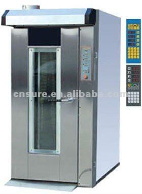 high efficiency rotary oven bakery