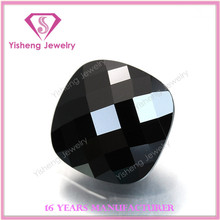 AAA Square Cut Corner Turtle Black Black Zirkon Ta Gem Stones Jewels