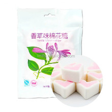 Bags Pack Heart Shaped Vanilla Candy Marshmallow Herb
