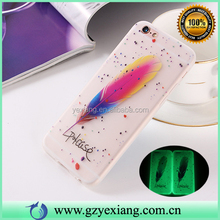 New Arrival Glow In The Dark Case For Samsung Galaxy S4 Case Transparent