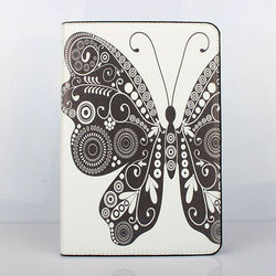 for Apple ipad mini case PU leather flip case butterfly case