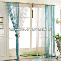 single color decorative window string curtain
