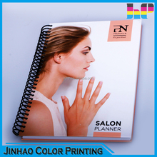 Cheap hardcover spiral notebook printing