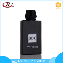 BBC Black Series-BL006 New items OEM service cheap fashion glass bottle perfumes for men