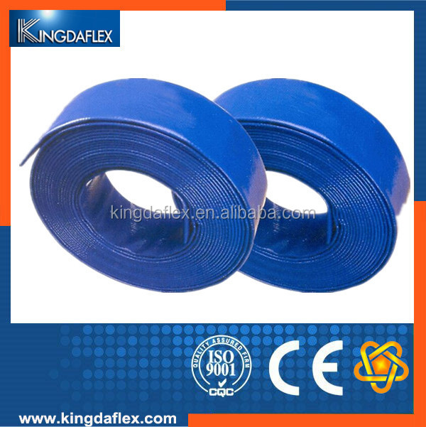PVC Layflat 12 Inch Flexible Hose Farm Irrigation Hose Pipe Manufacturer In China