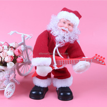 Christmas Santa Claus Figure Gifts Singing Electric Toys XMAS Decorations