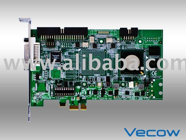 4-CH, H.264, PCIe DVR Video Hardware Compression Card
