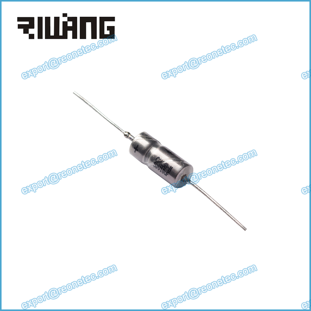 metal case axial lead tantalum capacitor with insulating bush CAK38 10uf 50v