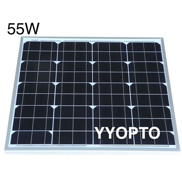 Zhejiang China 55W mono solar panel with best service
