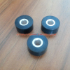 Injection moulding parts industrial smooth plastic pu wheel rollers manufacturer