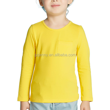 guangzhou clothes manufacturer wholesale long sleeve baby girls top design