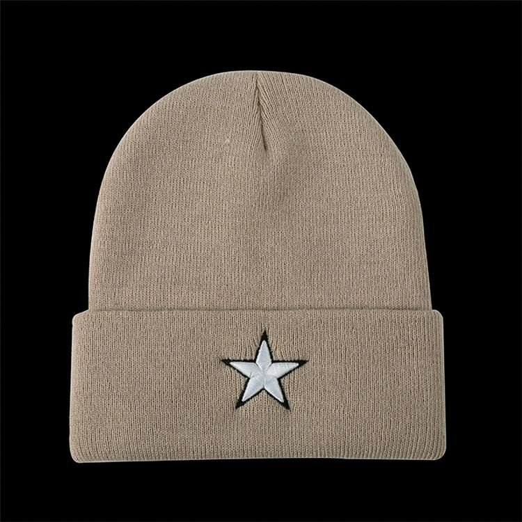 Top selling OEM design cheap sports beanie knitted hat with good prices