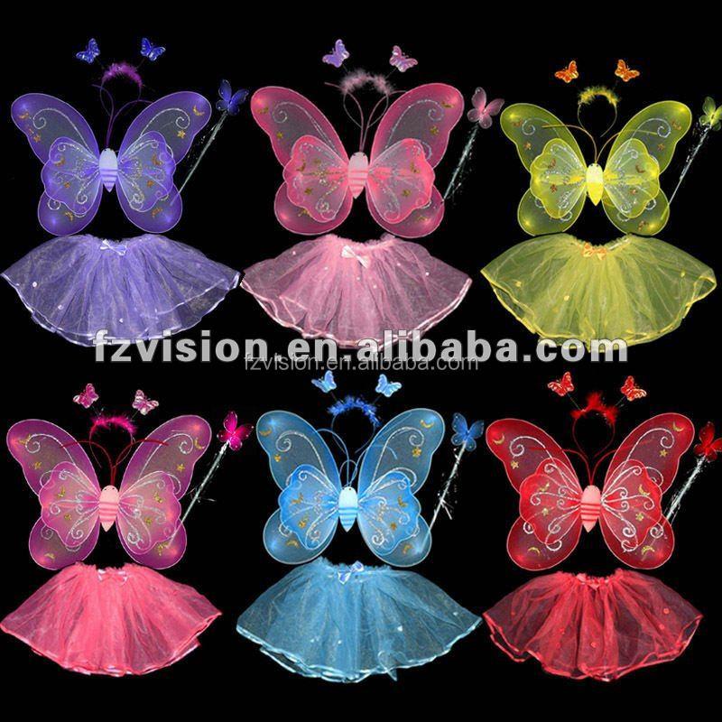 Как и из чего сделать крылья бабочки своими руками 84