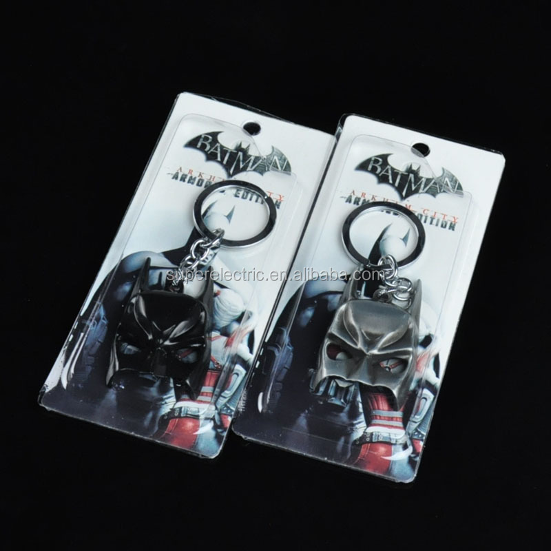 batman mask keychain figure toy