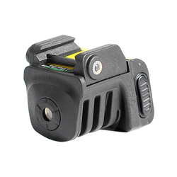 Light weight subcompact built-in rechargeable battery green gun laser sight