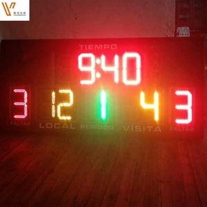 Outdoor Portable Electronic Table Tennis Scoreboard