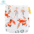 Happy flute baby washable reusable one size pocket diapers nappy factory OEM