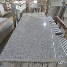 Polished Shandong White Granite Fireplace Hearth Slab
