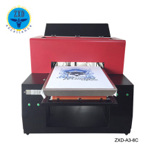 Fast Speed clothing digital A3 t shirt printer/cheap direct to garment t-shirt printing machine for sale
