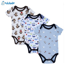 2017 Newborn Baby Clothes Babyworks One Pieces Baby Romper Infant Boys Girls Long Sleeve Jumpsuits Clothing Baby Rompers