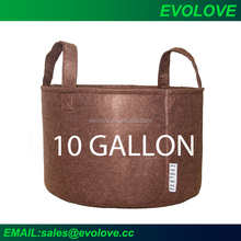 Breathable plant bags 10 gallon