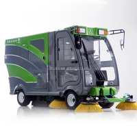 Good quality ielectric pavement sweeper truck with CE