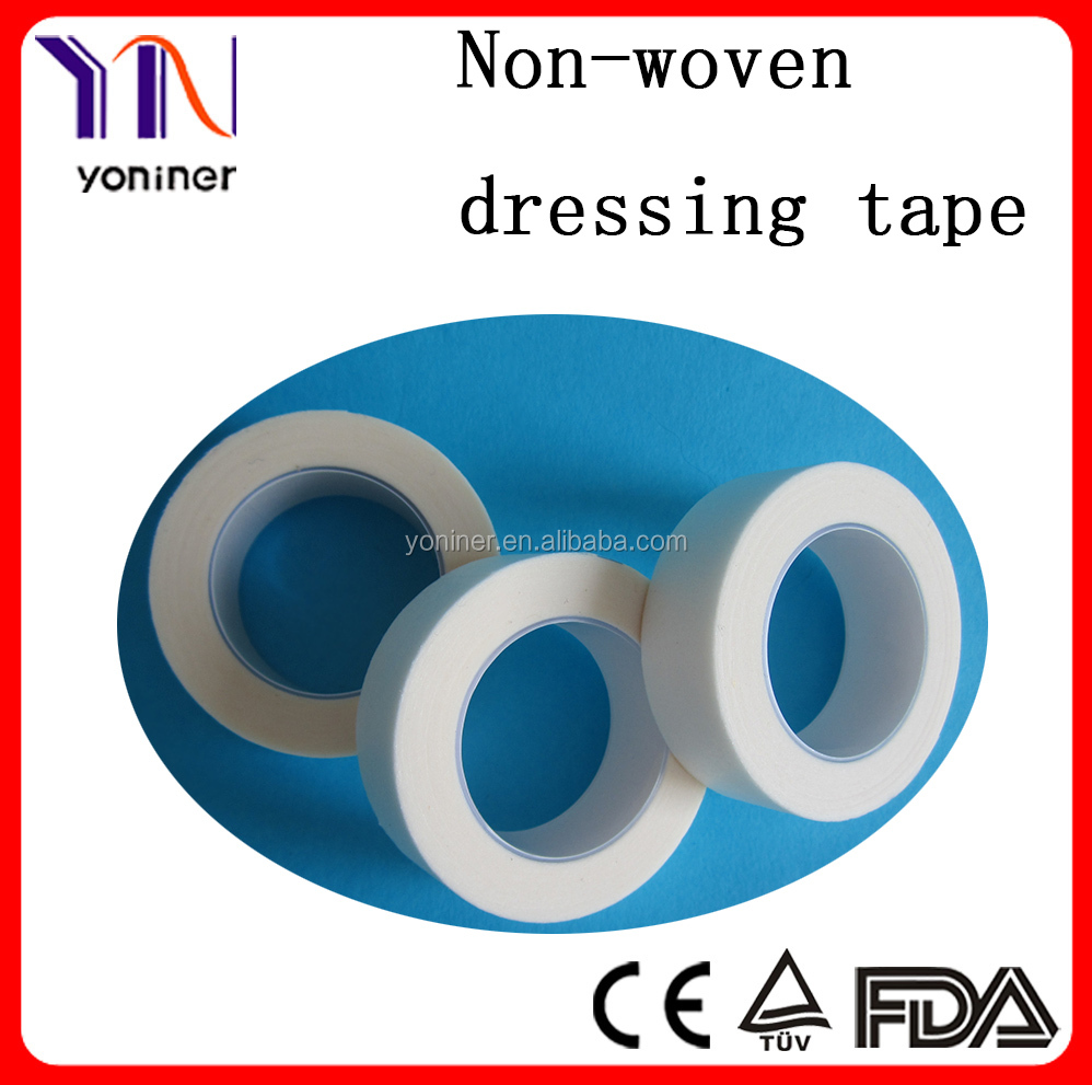 Medical non-woven first aid adhesive plaster roll.