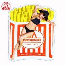 Personalized shape custom made round microfiber printed sand free custom beach towel