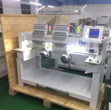 2 head Embroidery machine as same as tajima embroidery machine in alibaba