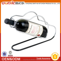 China kitchen accessory supplier ChuZhiLe iron pantry wine shelf factory