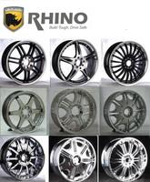 12 to 26 inch car alloy wheels RHINO alloy rim wheel