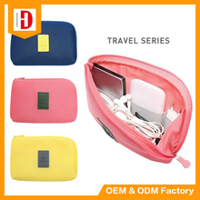 Digital electronic product wire storage bag travel organizer bag
