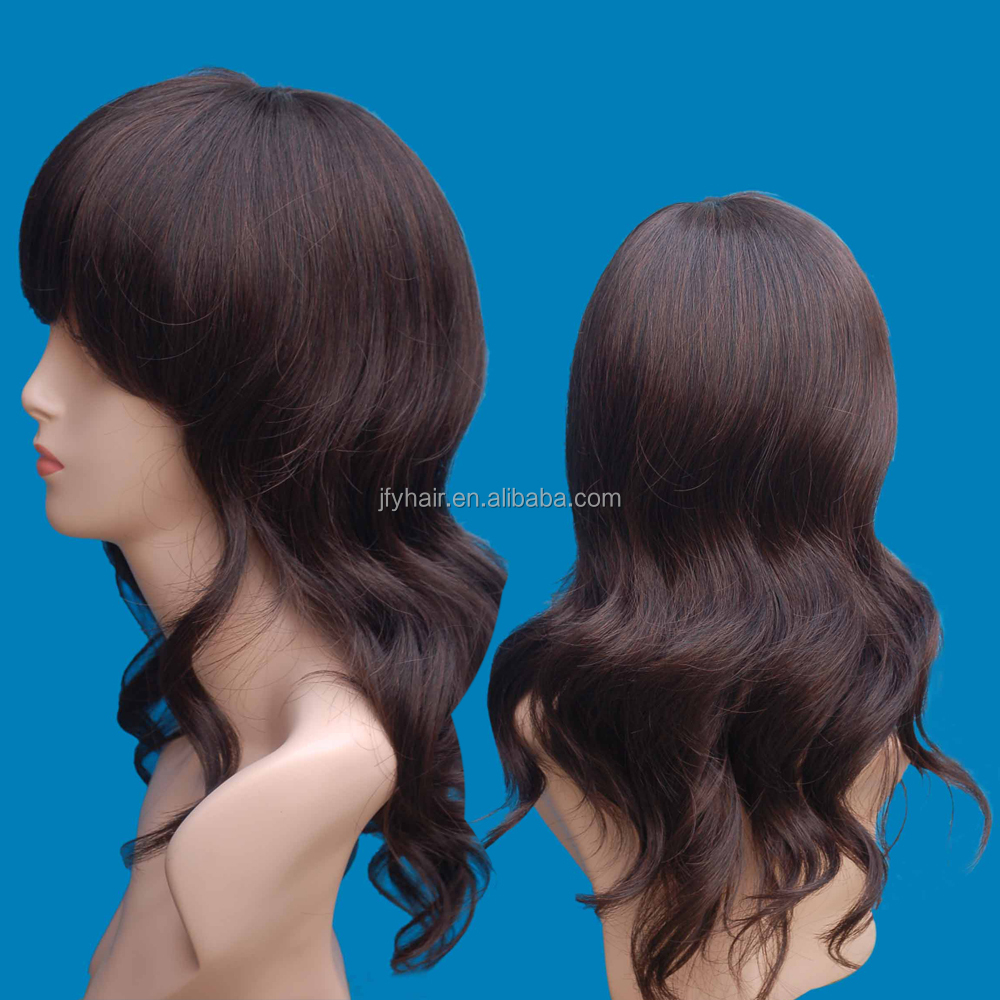 high quality synthetic wig, 2016 indian women hair wig, fashion ombre wig