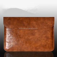 good price handmade leather cover for macbook pro cover