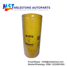 Excavator engine part oil filter 1r-0716 for CAT
