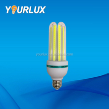 china suppliers 9W 3U COB E27 energy saving led corn light bulb