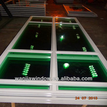 Wanjia wholesale safety glass window and door/opaque glass windows