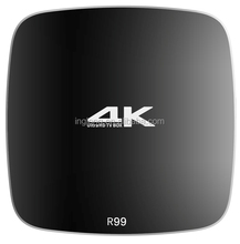 Rockchip RK3399 android tv box R99 with ram 4gb rom 32gb