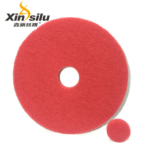 430 mm red and white marble floor polishing pad for cleaning